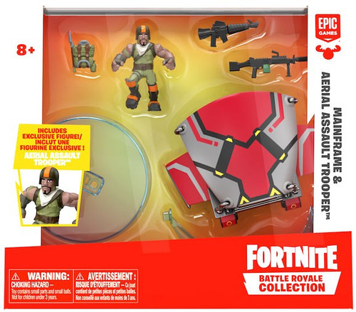 Fortnite Epic Games Battle Royale Collection Mainframe & Aerial Assault Trooper 2-Inch Vehicle & Mini Figure