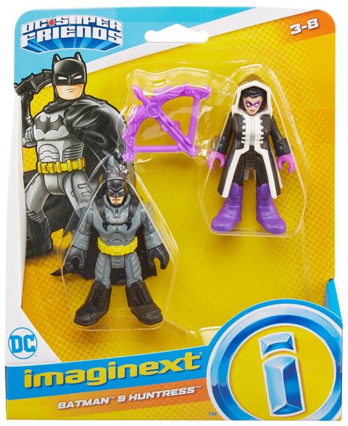 Fisher Price DC Super Friends Imaginext Batman & Huntress Figure Set