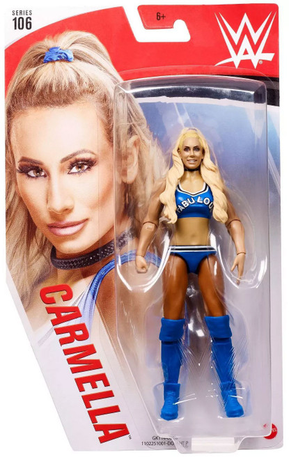 WWE Wrestling Series 106 Carmella Action Figure [Blue Outfit]