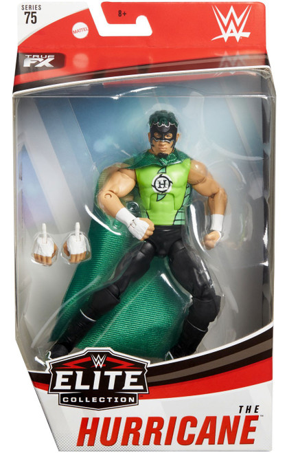 WWE Wrestling Elite Collection Series 75 Hurricane Action Figure [Black Boots]
