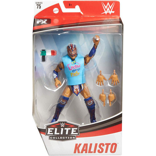 WWE Wrestling Elite Collection Series 75 Kalisto Action Figure