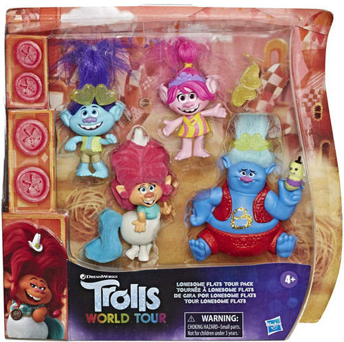 Trolls World Tour Lonesome Flats Tour Pack 2-Inch