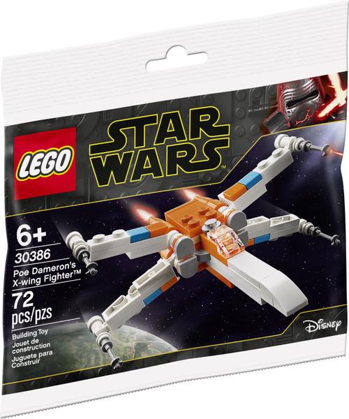 LEGO Star Wars Poe Dameron's X-Wing Fighter Set #30386
