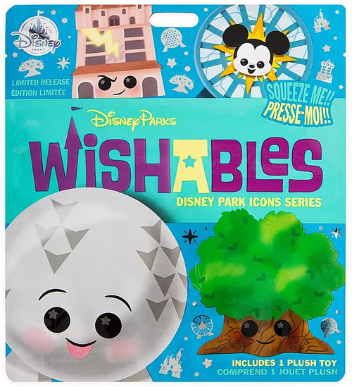 Wishables Disney Park Icons Exclusive 5-Inch Micro Plush Mystery Pack [1 RANDOM Figure]