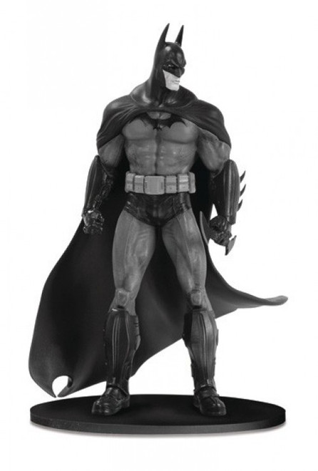 Batman Black & White Series 3 Arkham Asylum 3.75-Inch Mini Statue [Loose]