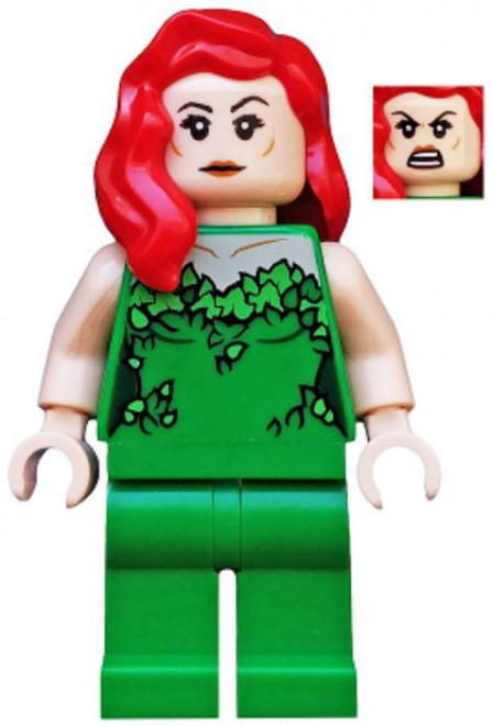 LEGO DC Universe Super Heroes Poison Ivy Minifigure [Green Outfit Loose]