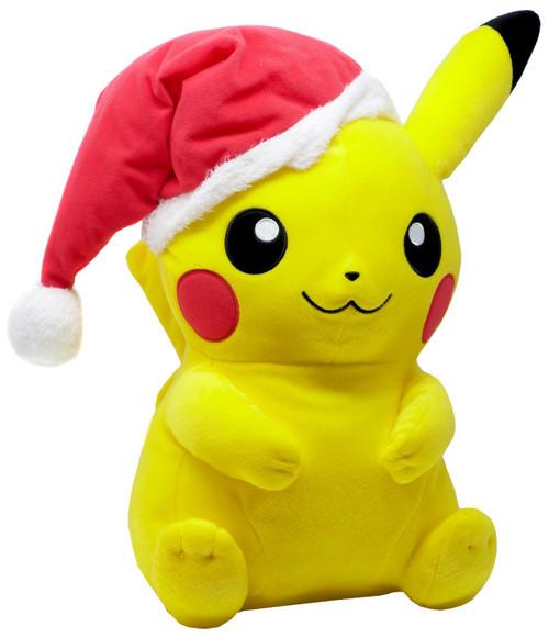 Pokemon Pikachu 14-Inch Plush [Santa Hat]