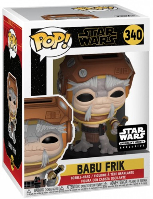 Funko The Rise of Skywalker POP! Star Wars Babu Frik Exclusive Vinyl Figure #340