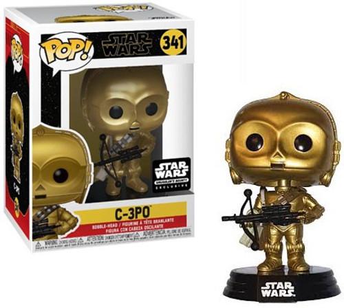 Funko The Rise of Skywalker POP! Star Wars C-3PO Exclusive Vinyl Figure #341