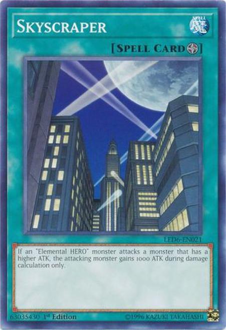 YuGiOh Legendary Duelists: Magical Hero Common Skyscraper LED6-EN021