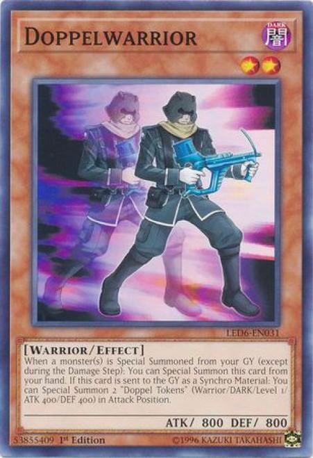 YuGiOh Legendary Duelists: Magical Hero Common Doppelwarrior LED6-EN031
