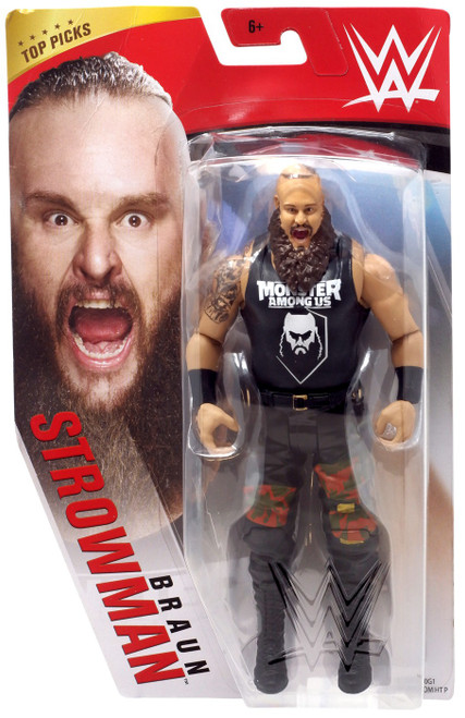 WWE Wrestling Top Picks 2020 Braun Strowman Action Figure [Basic]