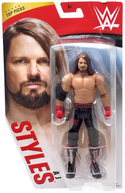 WWE Wrestling Top Picks 2020 AJ Styles Action Figure