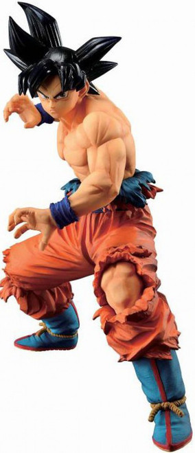 Dragon Ball Ichiban Son Goku Ultra Instinct Sign 8.2-Inch Collectible PVC Figure [Ultimate Version]