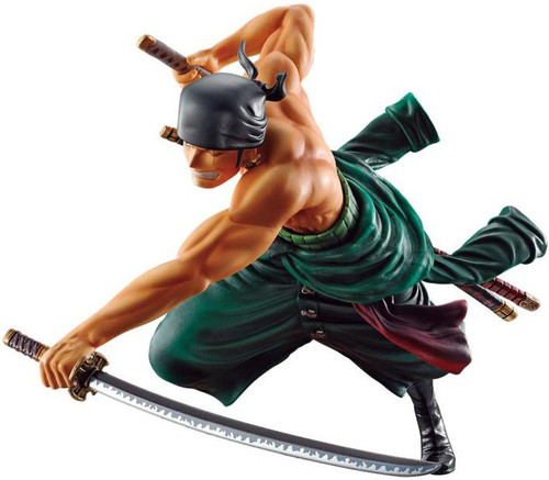 One Piece Ichiban Roronoa Zoro 5.5-Inch Collectible PVC Figure [Battle Memories]