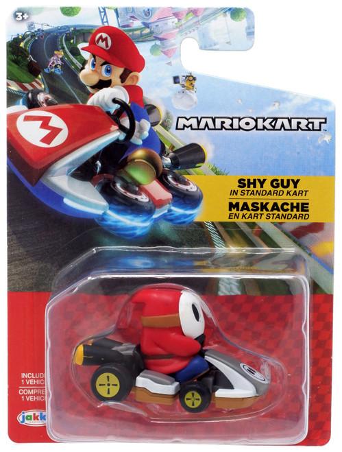 World of Nintendo Mario Kart Tape Racer Shy Guy Figure [in Standard Kart]