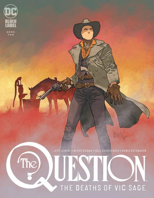 DC Black Label Question #2 The Death of Vic Sage Comic Book [Eduardo Risso Variant Cover]