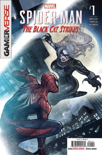 Marvel Comics Spider-Man The Black Cat Strikes #1 Comic Book