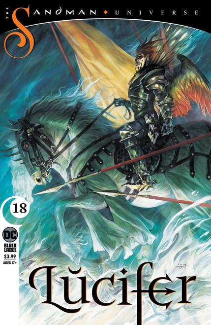DC Lucifer #18 The Sandman Universe Comic Book