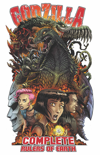 IDW Godzilla Complete Rulers of the Earth Trade Paperback Comic Book