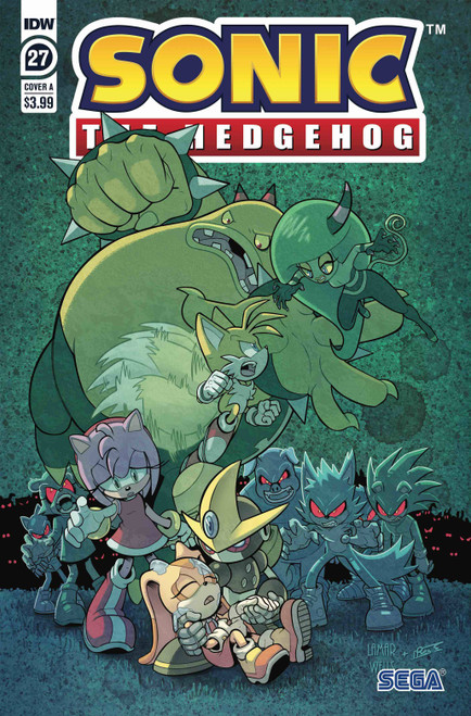 IDW Sonic The Hedgehog #27 Comic Book