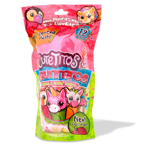 Cutetitos Mini Plush Series 4 Fruititos 7.5-Inch Mystery Pack [Scented!]