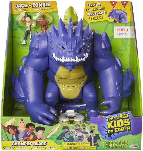The Last Kids on Earth Chompin' Blarg Deluxe Figure