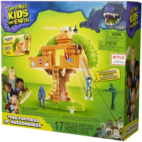 The Last Kids on Earth Tree Fortress of Awesomeness Playset