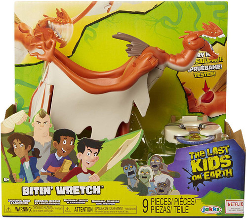 The Last Kids on Earth Bitin' Wretch Figure