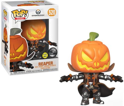 Funko Overwatch POP! Games Reaper Exclusive Vinyl Figure #520 [Glow-in-the-Dark]