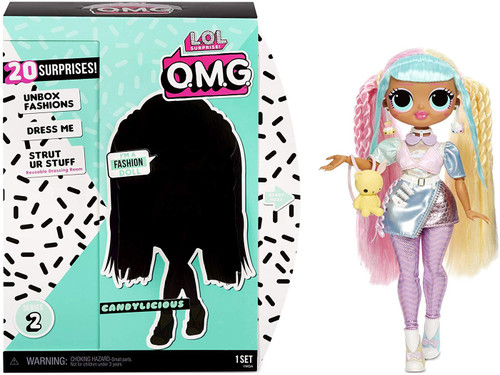 LOL Surprise OMG Series 2 Candylicious Fashion Doll