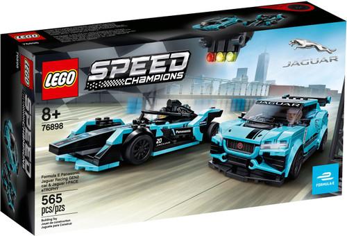 LEGO Speed Champions Formula E Panasonic Jaguar Racing Set #76898 [GEN2 Car & Jaguar I-PACE eTROPHY]