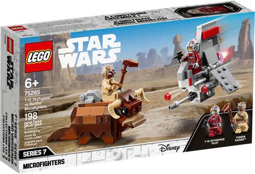 LEGO Star Wars Microfighters Series 7 T-16 Skyhopper vs Bantha Microfighters Set #75265
