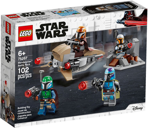 LEGO Star Wars Mandalorian Battle Pack Set #75267
