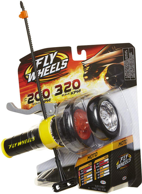 Fly Wheels Series 1 Moto Launcher & Wheel [Yellow]