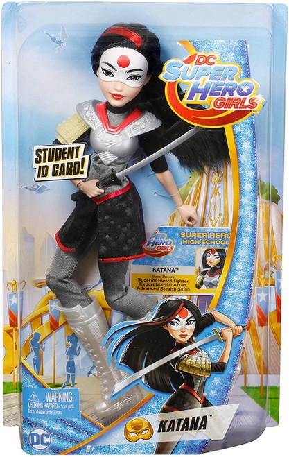 DC Super Hero Girls Katana 12-Inch Deluxe Doll