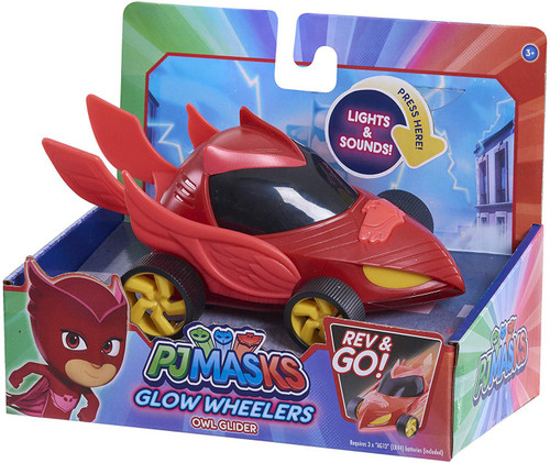 Disney Junior PJ Masks Glow Wheelers Owl Glider Vehicle