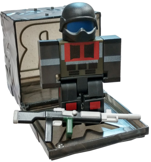 Roblox Series 7 After the Flash: Super Soldier 3-Inch Mini Figure [with Black Cube and Online Code Loose]