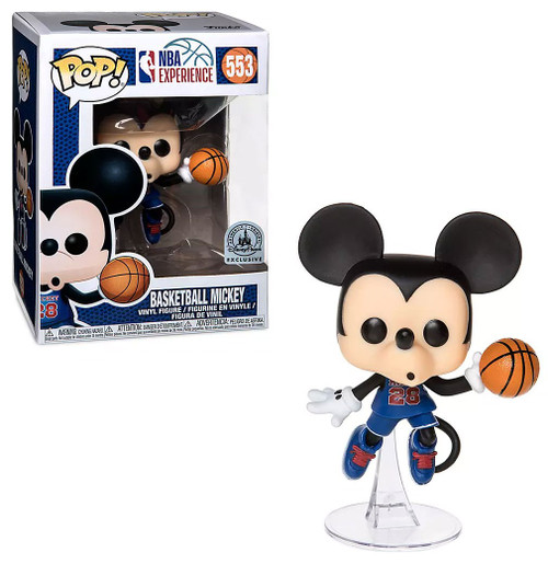 Funko NBA Experience POP! Disney Basketball Mickey Exclusive Vinyl Figure #553 [Damaged Package]