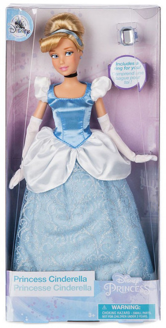 Disney Princess Classic Princess Cinderella Exclusive 11.5-Inch Doll [with Ring, Damaged Package]