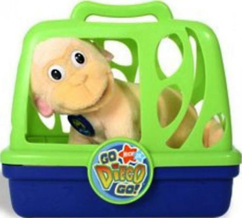 Fisher Price Go Diego Go! Animal Adventure Baby Monkey Plush [Rescue Friend, Damaged Package]
