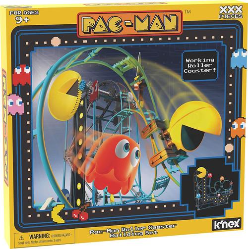 K'NEX Pac-Man Roller Coaster Set [Damaged Package]