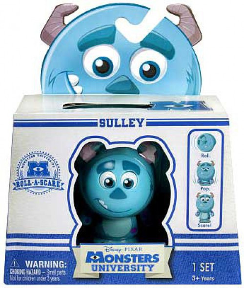 Disney / Pixar Monsters University Roll-a-Scare Sulley Figure [Damaged Package]