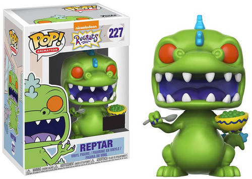 Funko Nickelodeon Rugrats POP! TV Reptar Exclusive Vinyl Figure #227 [with Cereal, Damaged Package]