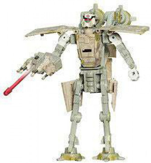 Star Wars The Empire Strikes Back Transformers 2007 AT-AT Driver to AT-AT Action Figure