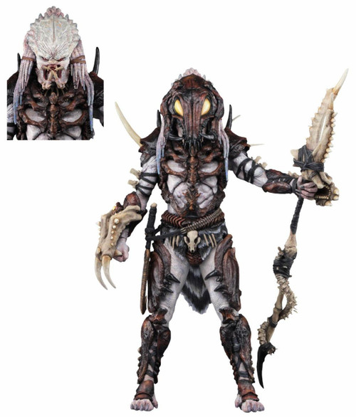 NECA 100th Edition Alpha Predator Action Figure [Ultimate Version, NO GAME CODE!]