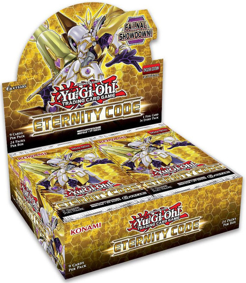 YuGiOh Trading Card Game Eternity Code Booster Box [24 Packs]