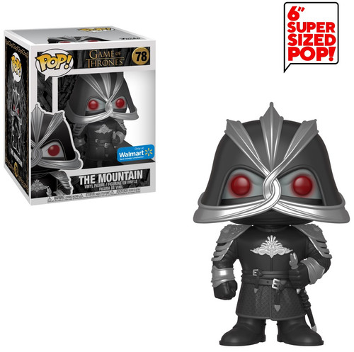 Funko Game of Thrones POP! TV The Mountain Exclusive 6-Inch Vinyl Figure #78 [Super-Sized]