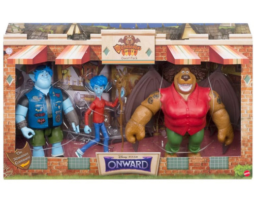 Disney / Pixar Onward Manticor's Tavern Quest Exclusive Action Figure 3-Pack