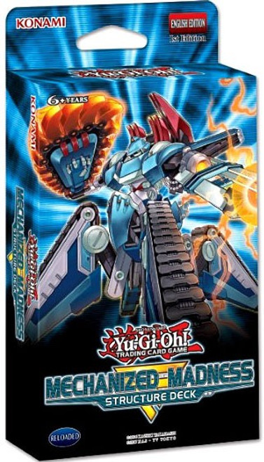 YuGiOh Trading Card Game Mechanized Madness Structure Deck